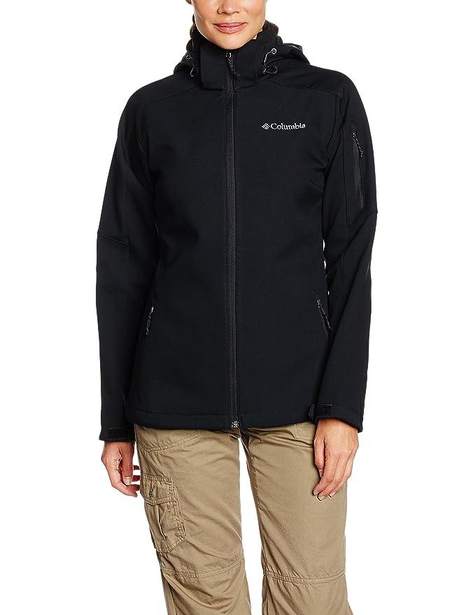 Columbia Women's WL1159 Windproof Softshell Jacket, Cascade Ridge Jacket,  Polyester