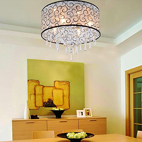 huajing® Fácil y graziöse lámpara de cristal (4 unidades de ...
