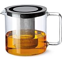 Bohemia Cristal 093 006 005 Simax dzbanek do herbaty cylindryczny 1,3 l z odpornego na wysokie temperatury szkła…