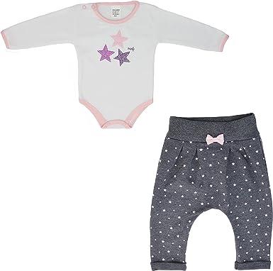 MROFI Conjunto de Ropa de bebé Traje Deportivo Unisorn de algodón Unisex Body con Pantalones para niñas y niños Muchos Colores 68 74 80 86: Amazon.es: Ropa y accesorios