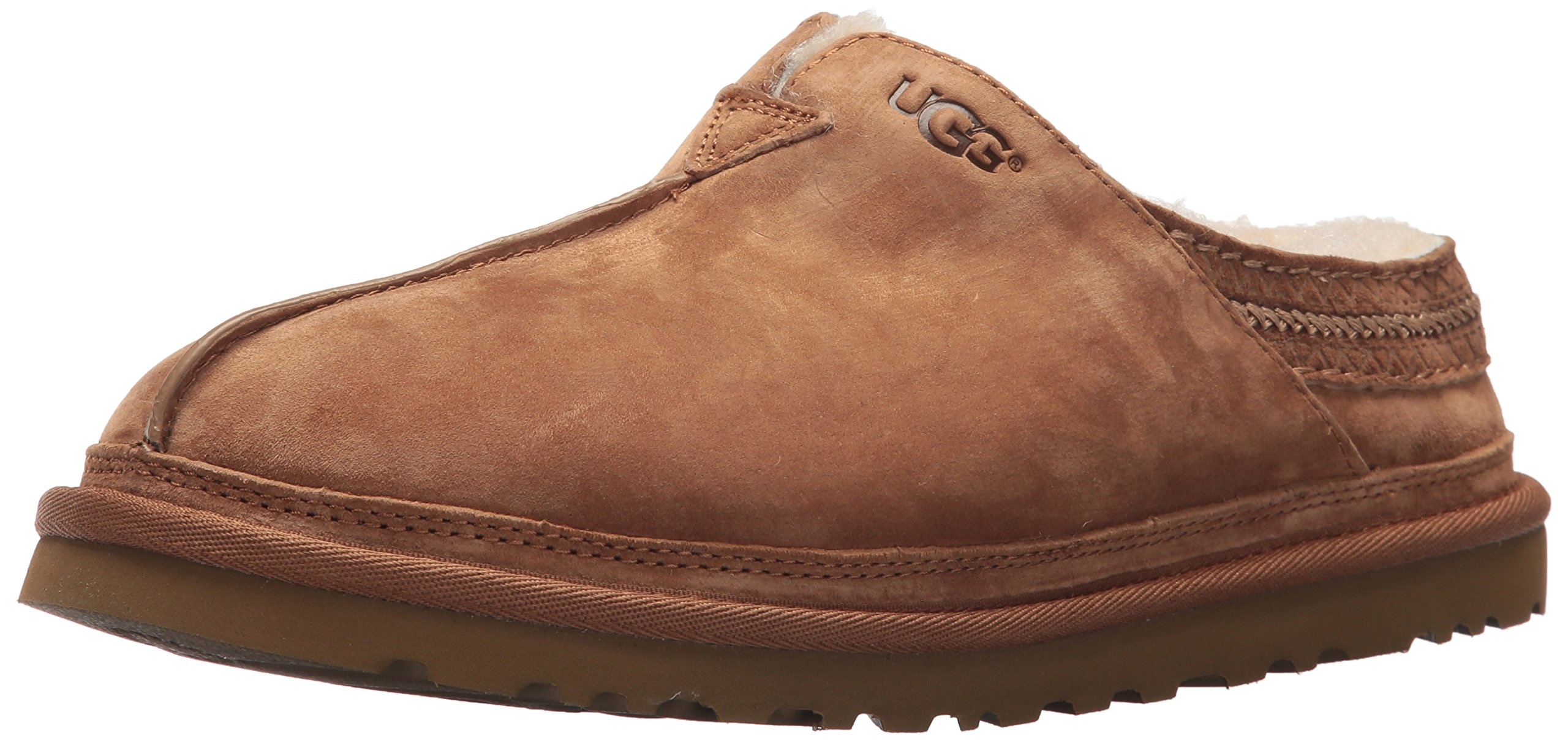 UGG Men's Neuman Clog, Chestnut, 10 US/10 M US