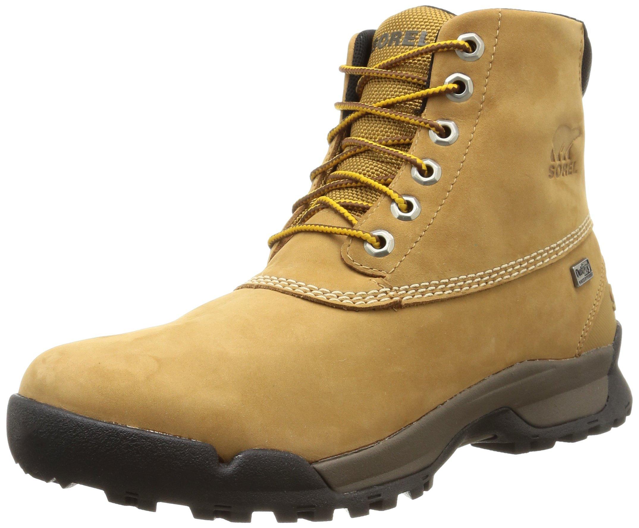 SOREL Men's Paxson 6'' Outdry Snow Boot, Buff, Major, 9 D US