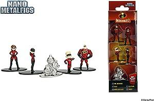 Entertainment Earth Incredibles 2 Nano Metalfigs Mini-Figure 5-Pack