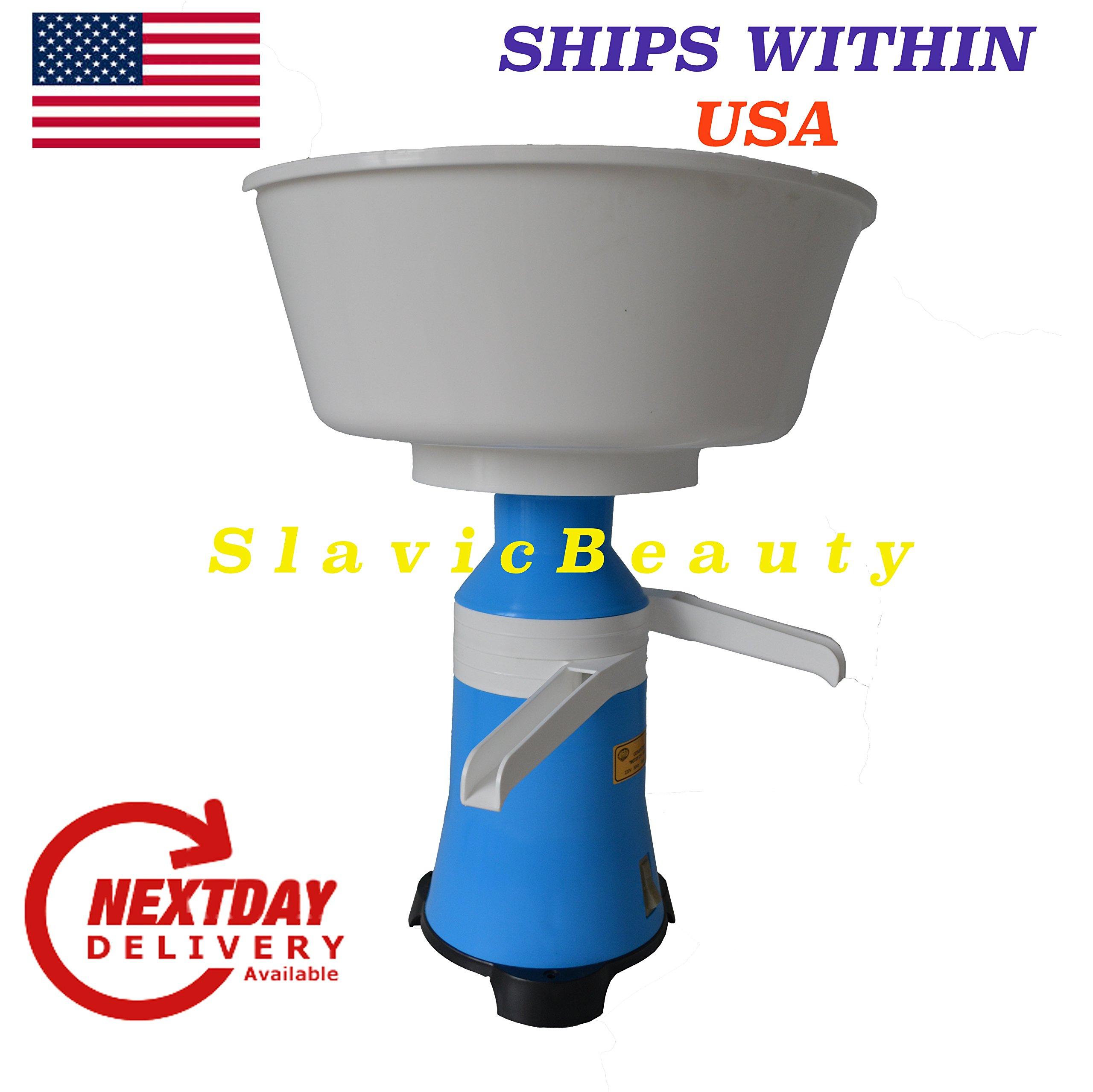 Milk Cream Electric Centrifugal Separator 80 L/H 110 V USA/CANADA