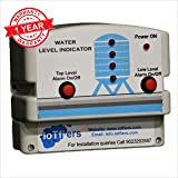 IoTfiers Water Level Indicator with Alarm on Tank Full and Empty with 5 SS Sensors Included