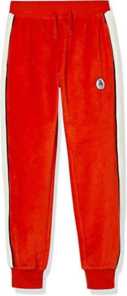 Kid Nation Kids Unisex Casual Sweatpants Pull-on Jogger Pants with Pockets for Boys and Girls 4-12 Years