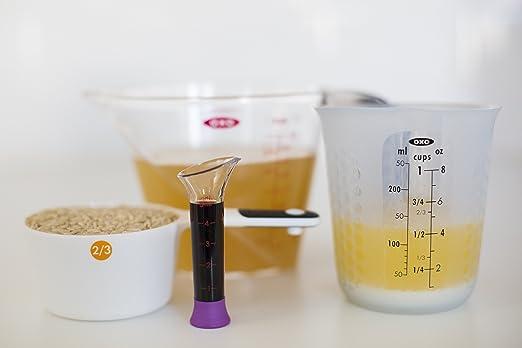 Compra Oxo Good Grips - Taza de medir, Silicona, Transparente, de ...