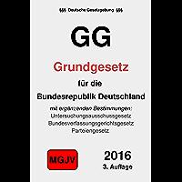 GG: Grundgesetz für die Bundesrepublik Deutschland (German Edition)