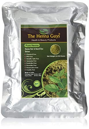 100 Pure Natural Henna Powder For Hair Dye Color 100 Grams
