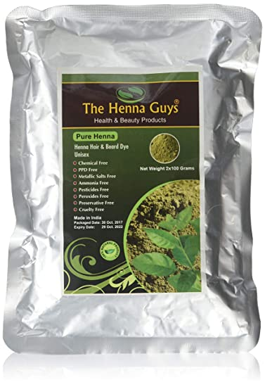 Amazon Com 100 Pure Natural Henna Powder For Hair Dye Color 100