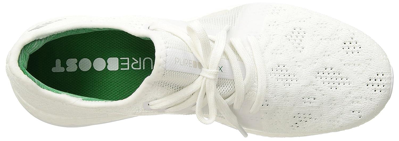 adidas Women's Pureboost X Element Running US|White/Grey Shoe B071Z6D3V4 9 B(M) US|White/Grey Running Two/Green b817c8