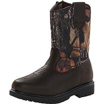 5M Smoky Mountain Toddler Boys Monterey Western Cowboy Boots Brown//Black