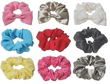 Par De Flor Rosa Hermosa Pequeña Cabello Ponios-muchos colores disponibles