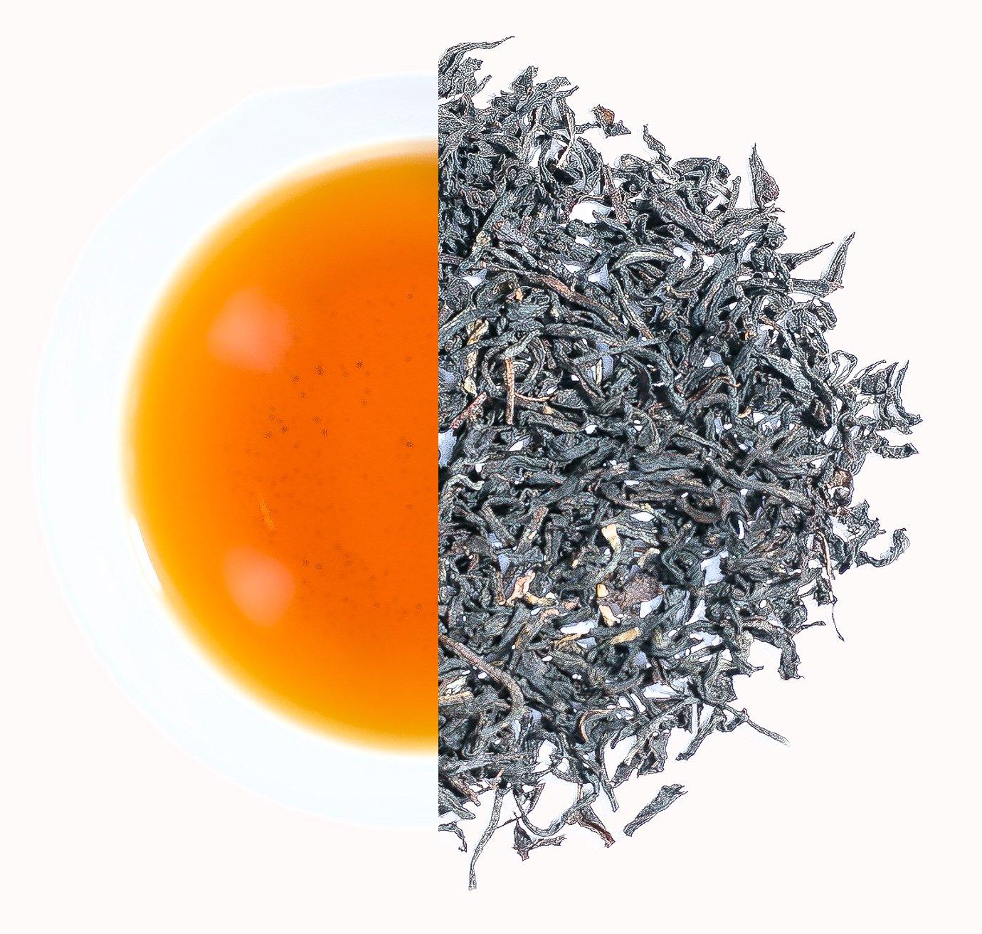 Bulk Organic Assam Black Tea from Chota Tingrai Tea Estate, Loose Leaf, Grade TGFOP (22 lbs.)