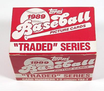 1986 Topps Traded Baseball Card Set Mlb Cards