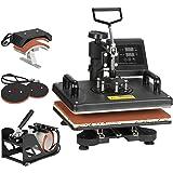 F2C Pro 5 in 1 Swing-Away Digital Transfer Sublimation Heat Press Machine Hat/Mug/Plate/Cap/T-Shirt Multifunction New…