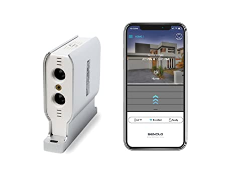 Senclo Fi Mini, Universal, Smart and Autonomous Garage Door Opener