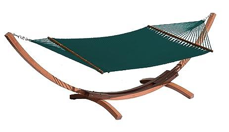 caribi jumbo hammock by beachside hammocks   green amazon    caribi jumbo hammock by beachside hammocks   green      rh   amzn