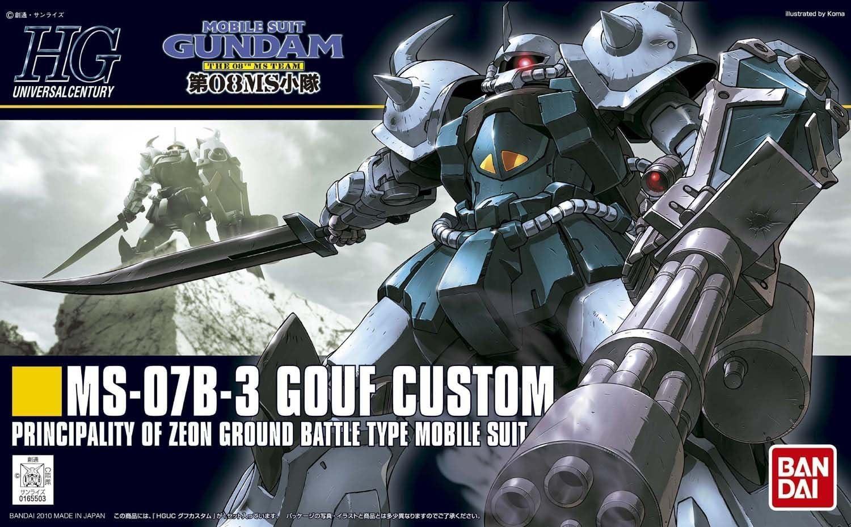 BANDAI Mobile Suit Gundam MS-07B-3 GOUF CUSTOM