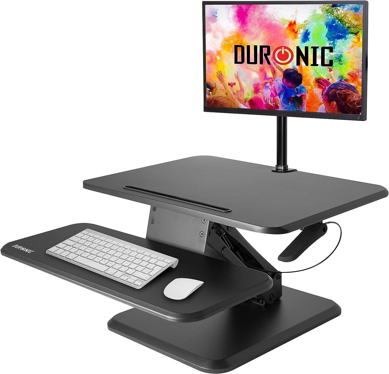 Duronic DM05D12 Estación de Trabajo para Monitor con Altura ...