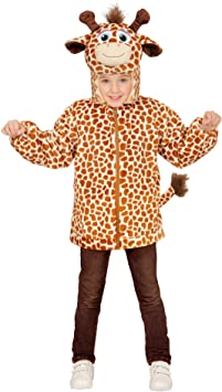 WIDMANN ? Disfraz para niños Jirafa de Peluche, Chaqueta con ...