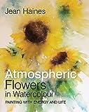 Atmospheric Flowers In Watercolour