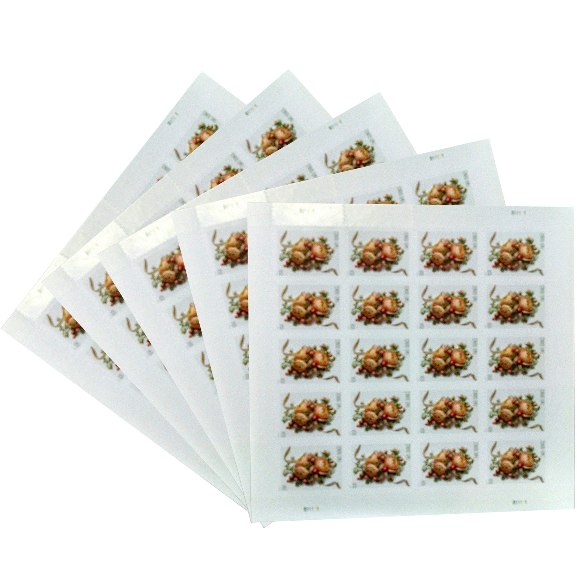 Celebration Corsage Sheet of 20 USPS Forever First Class Two Ounce Stamps Wedding Mother's Day Proms (5 Sheets of 20 Stamps) by USPS