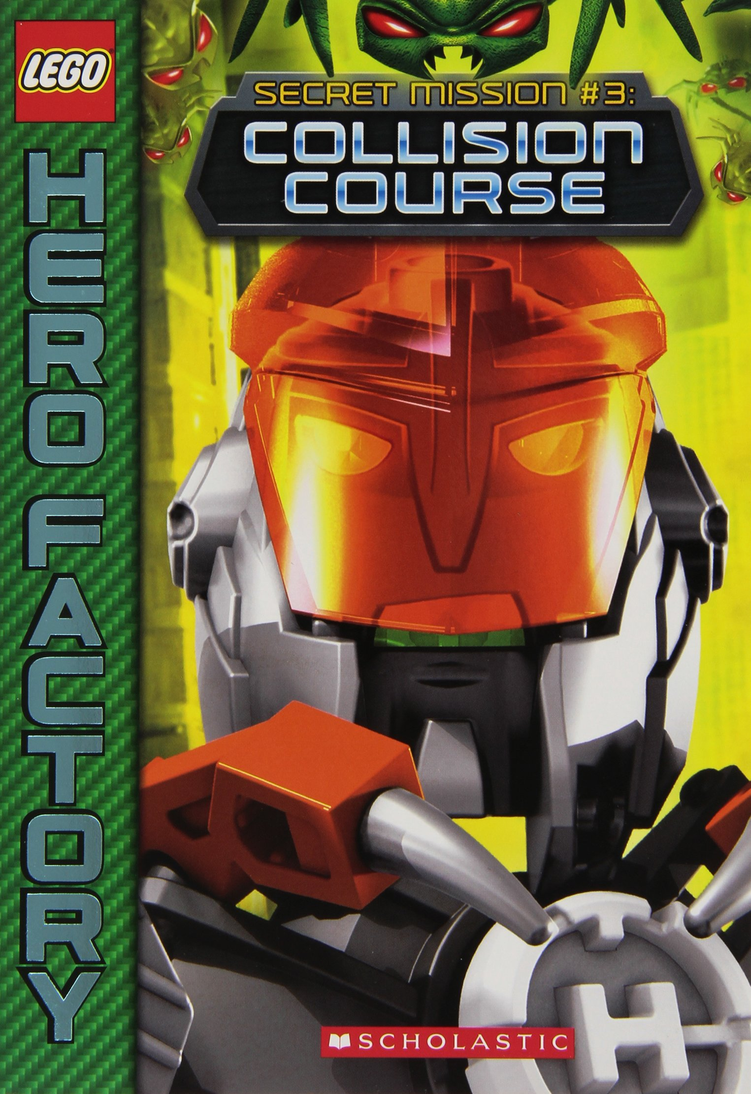 Amazoncom Lego Hero Factory Secret Mission 3 Collision Course