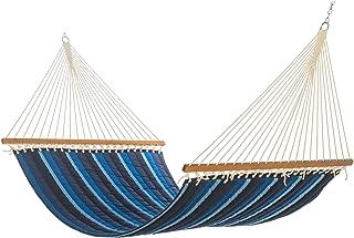 product image for Hatteras Hammocks Sunbrella Large Quilted Hammock - Gateway Indigo