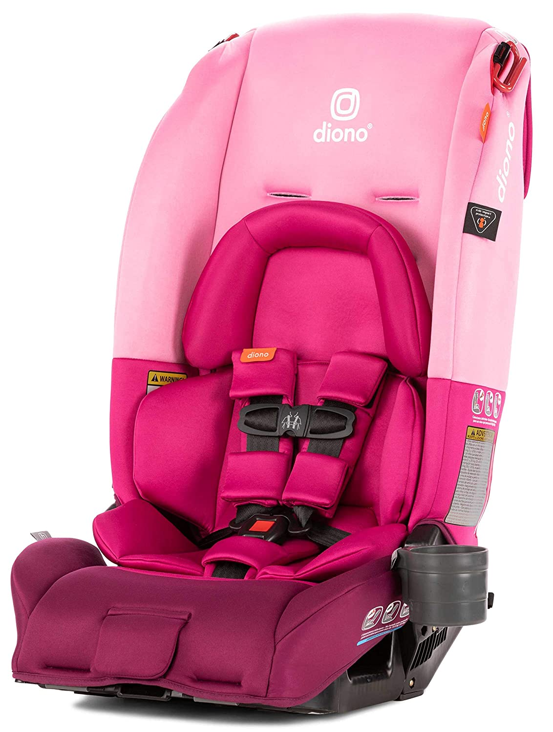 Diono 2019Radian 3RX All-in-One Convertible Car Seat, Pink