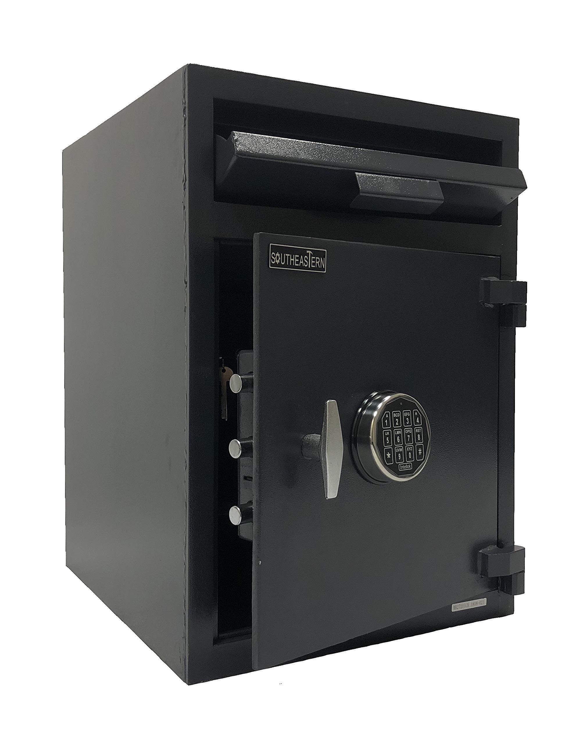 Southeastern F2820ILK Cashbag Drop Depository Safe with Quick Digital Lock w/Inner Dual Key Locker by Southeastern (Image #1)
