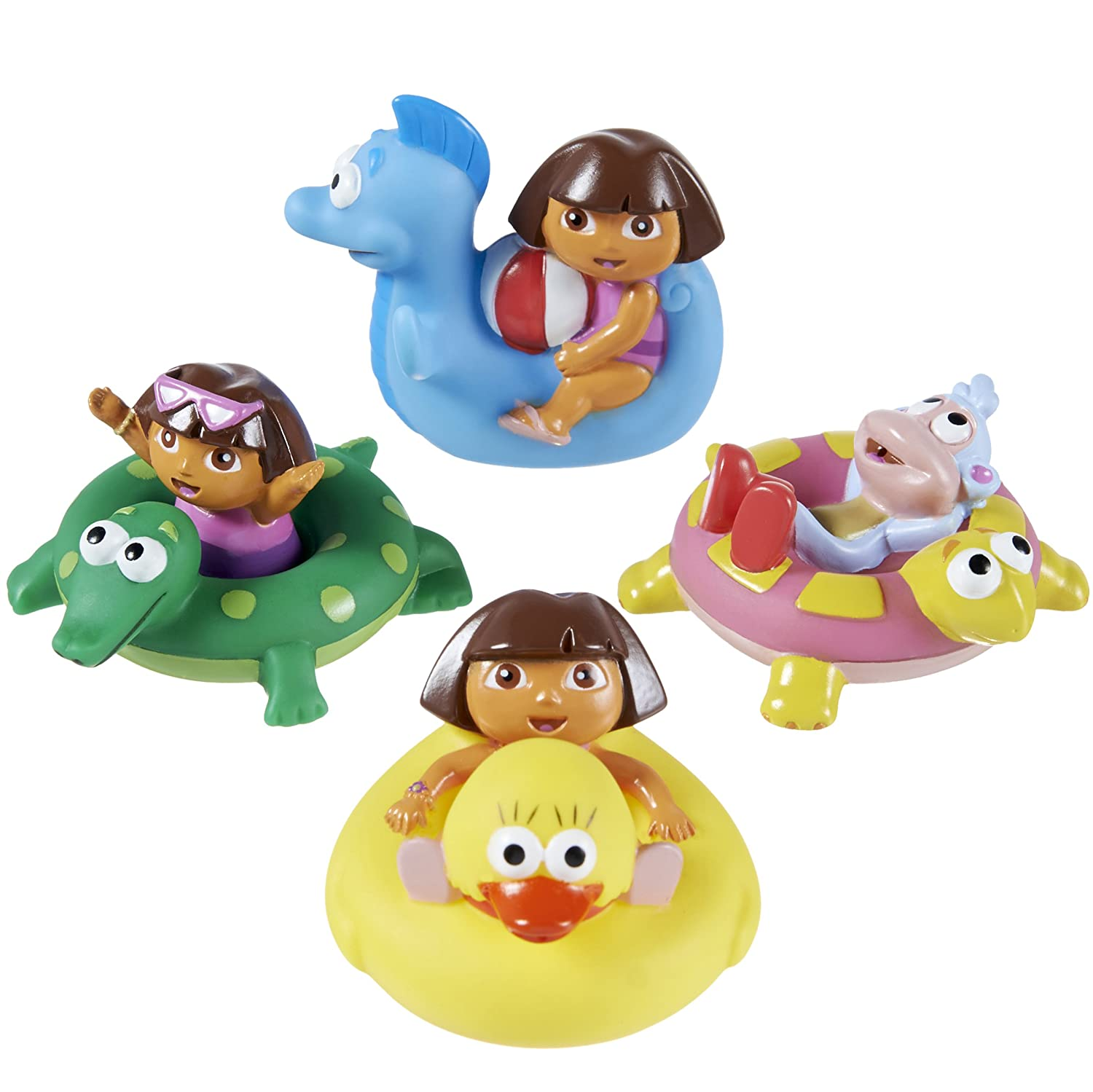 Amazon Munchkin Dora the Explorer Bath Squirters Bathtub