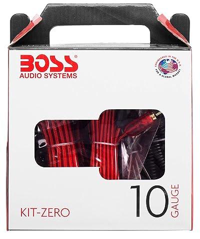 BOSS Audio Systems KIT-ZERO 10 Gauge Wiring Installation Kit