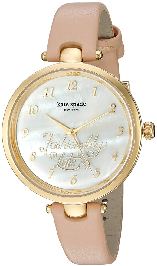 Amazon.com: kate spade new york Womens Holland Brown Watch KSW1220: Watches