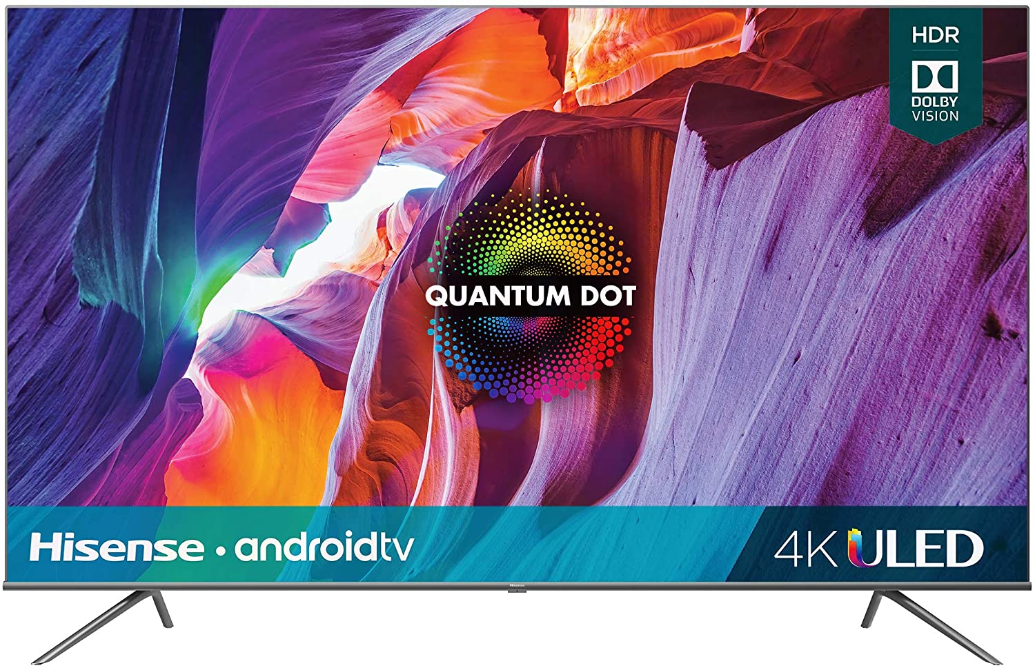 Hisense 75H8G 75″ 4K Quantum Series Android 4K ULED Smart TV with Voice Remote