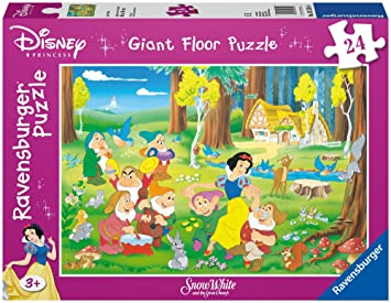 Disney Princess - Blancanieves y los 7 enanitos, puzzle de 24 piezas (Ravensburger 05354