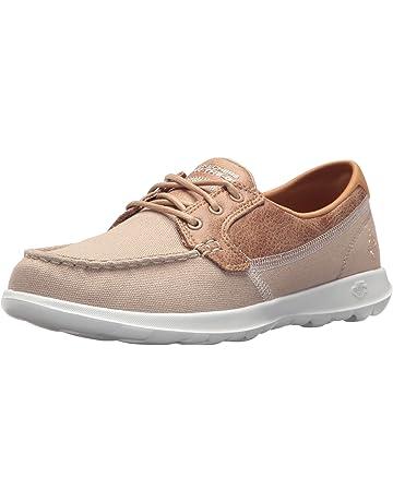 e04126ed8a268 Skechers Women's Go Walk Lite - Coral Boat Shoes