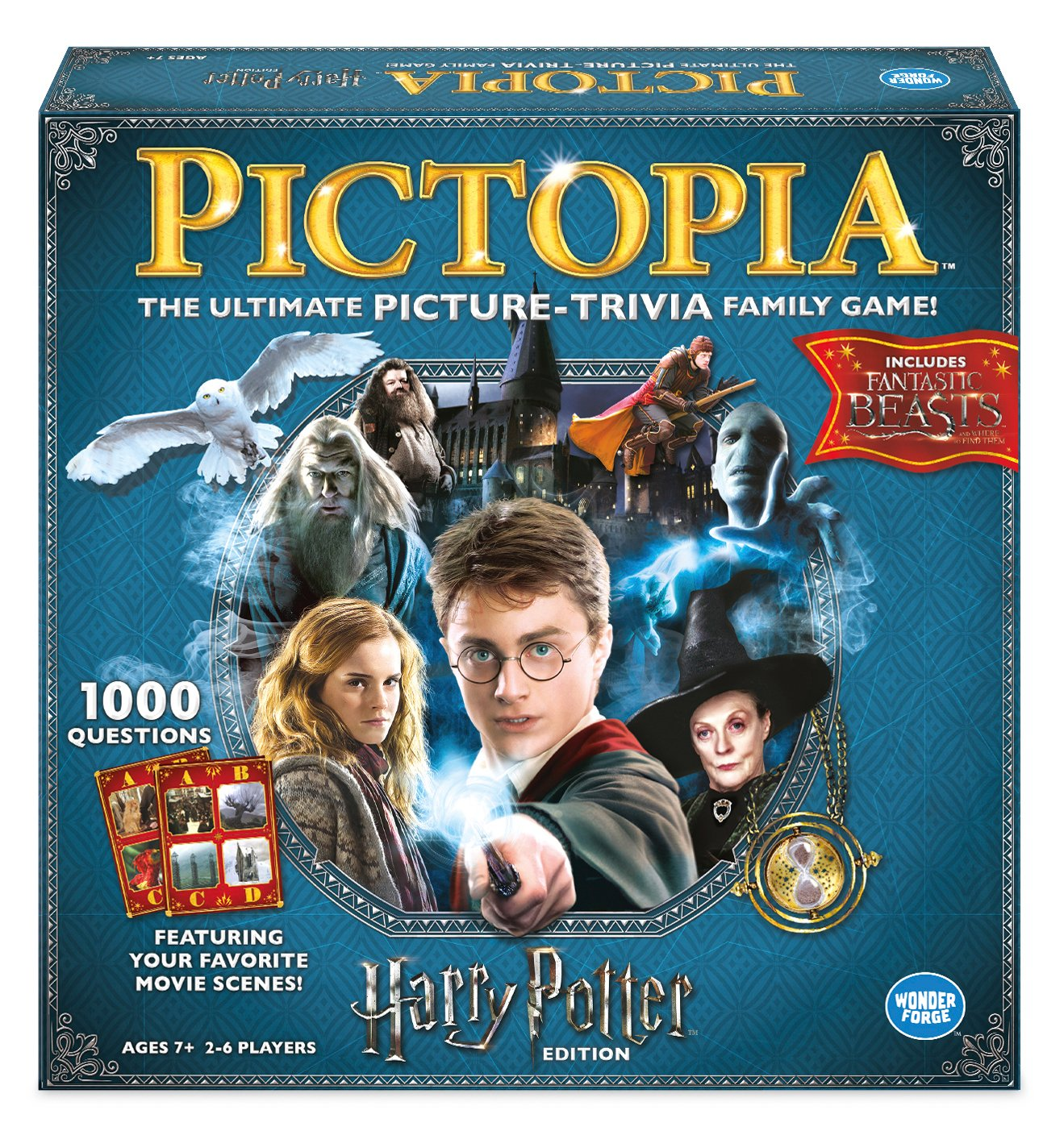 Ravensburger 22491 Pictopia Harry Potter Edition - Imagen Trivia Game