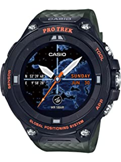 Amazon.com: CASIO Pro Trek Touchscreen Outdoor Smart Watch ...