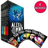 Alex Rider The Graphic Novel Collection 6 Books Box Set by Anthony Horowitz (Stormbreaker, Point Blanc, Skeleton Key…