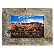 MyBarnwoodFrames - Homestead Reclaimed Barnwood 5x7 Picture Frame (2 Inch Width)