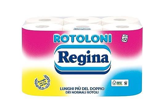 52 opinioni per Carta Igienica Rotoloni Regina 12R