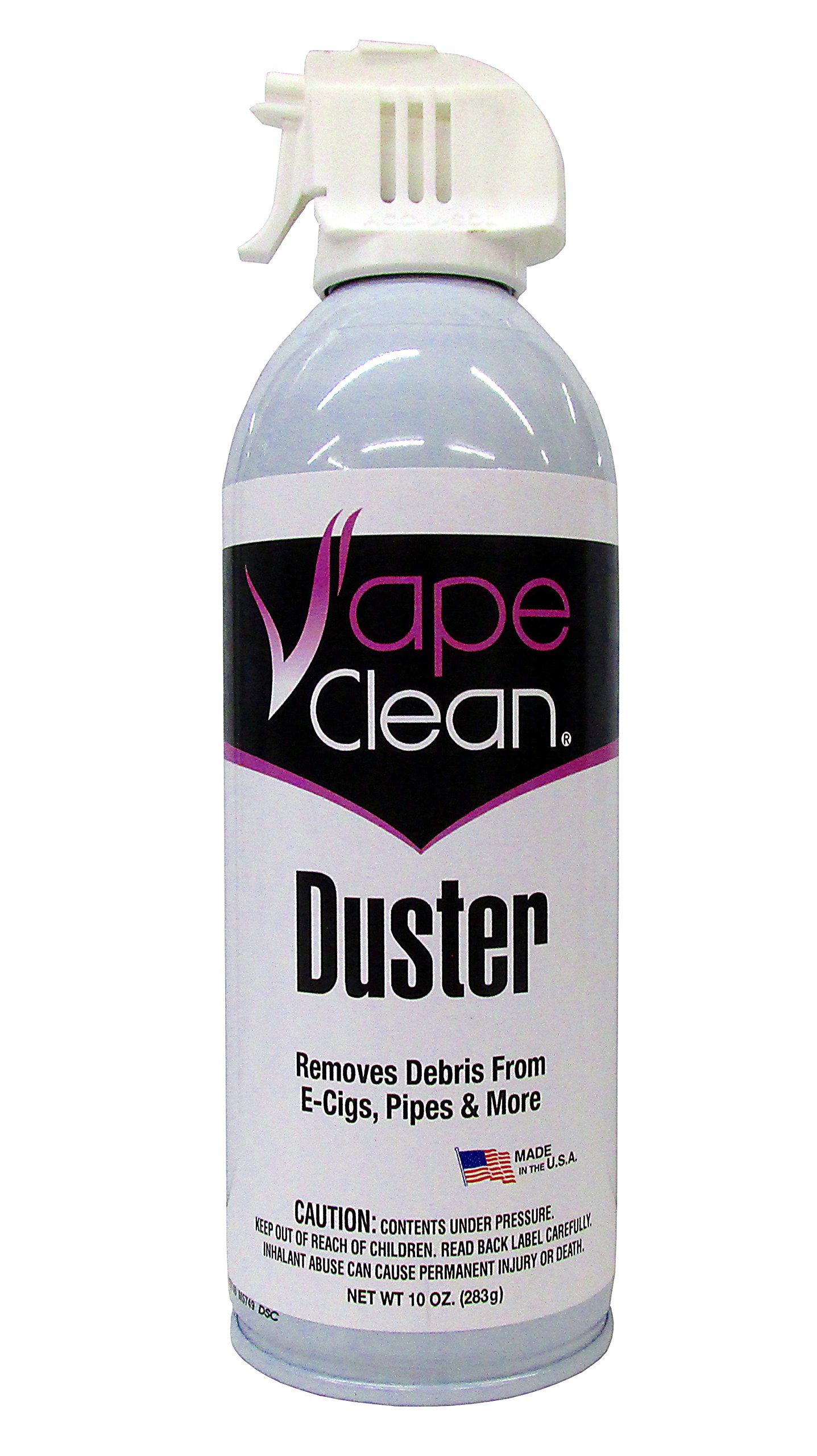 Max-Pro Vape Clean Duster 10oz E Cig and Pipe Cleaner