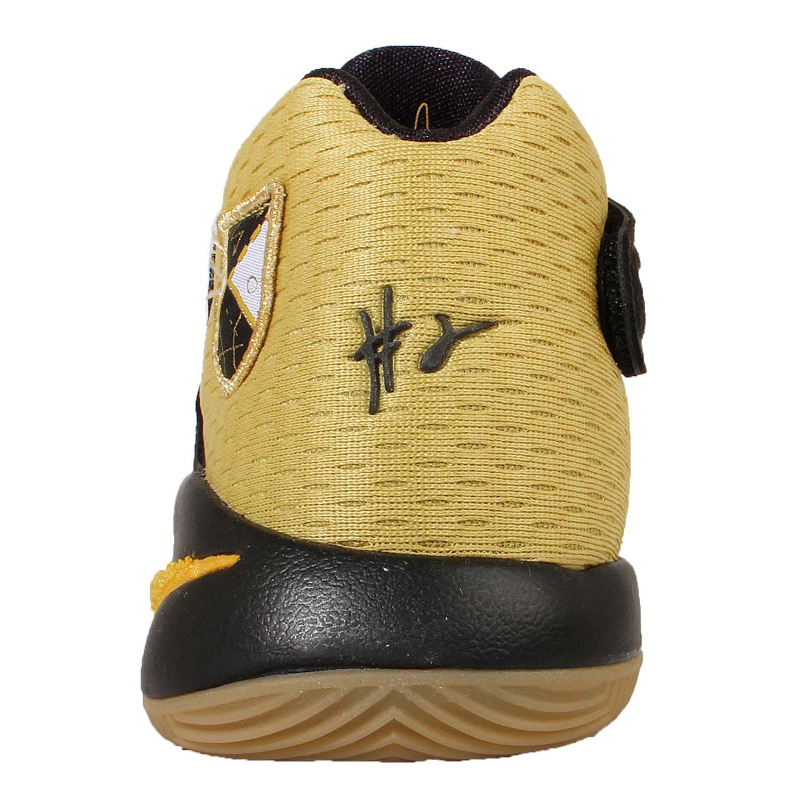Nike Kids Kyrie 2 AS GS, ALL STAR-CELERY/VARSITY MAIZE-BLACK, Youth Size 6 by Nike (Image #4)