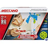Meccano, Set 3, Geared Machines S.T.E.A.M. Building Kit with Moving Parts, for Ages 10 and Up, 6047097