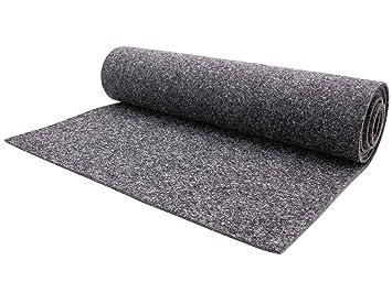 Fußboden Teppich Grau ~ Nadelfilz teppichboden meterware merlin schwer entflammbar grau