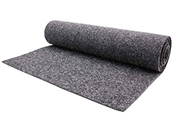 Vinyl Fußboden Meterware ~ Nadelfilz teppichboden meterware merlin schwer entflammbar grau