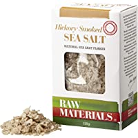 Raw Materials Hickory Smoked Sea Salt Flakes, 125 g