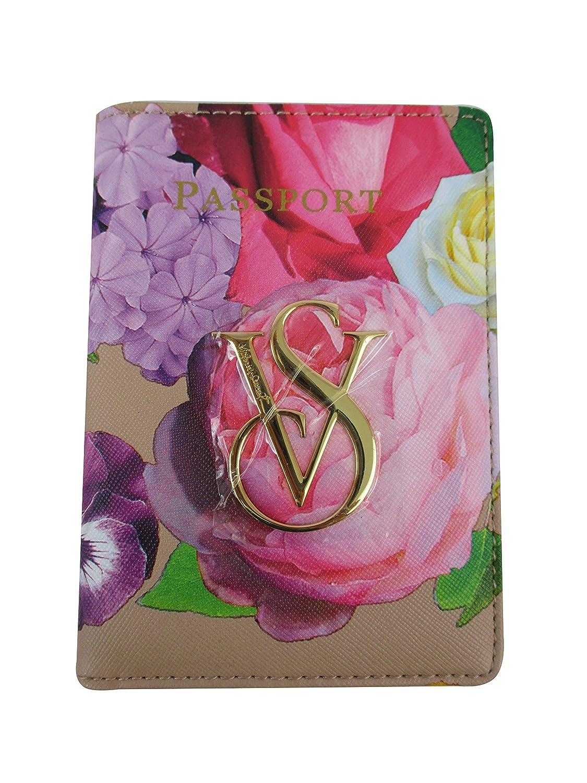 Victorias Secrets Passport Holder Vs Logo of Passport Suit Floral