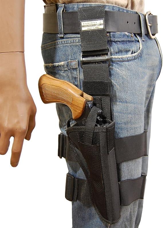 Barsony New Tactical Leg Holster for 6